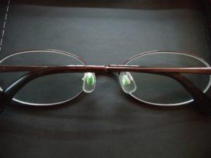 キレイになったメガネ